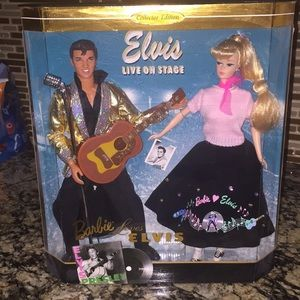 Barbie-Barbie and Elvis-Collectors Edition